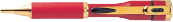 ネームペン赤